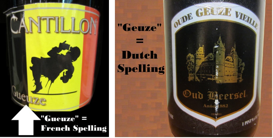 Geuze/Gueuze Spelling
